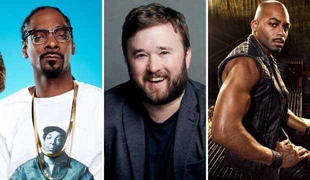 Snoop Dogg, Haley Joel Osment and Brandon Victor Dixon