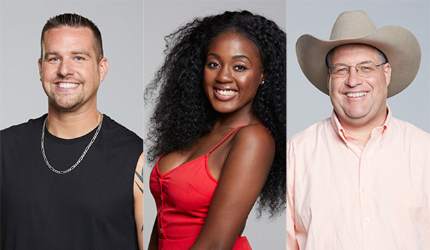 Sam Smith, Kemi Fakunle and Cliff Hogg III, Big Brother 21
