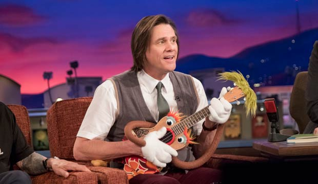 Will Jim Carrey ('Kidding') be latest movie star to crack the Emmy race for Best Comedy Actor?