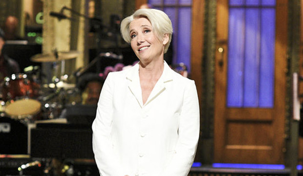 Emmy episode analysis: Emma Thompson ('SNL') gives a mother of a performance as first-time host
