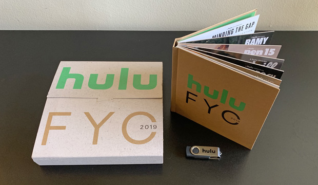 Hulu's 2019 Emmy FYC mailer: Voters are watching these episodes
