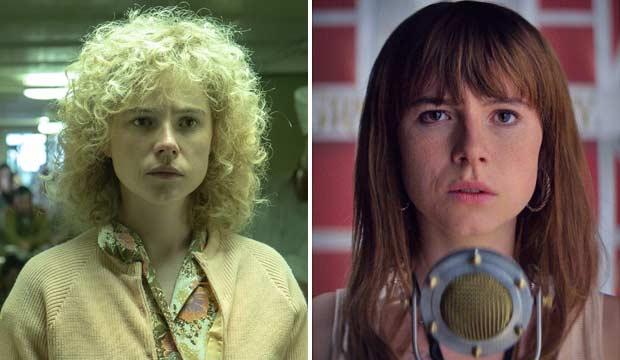 Jessie Buckley in Chernobyl and Wild Rose