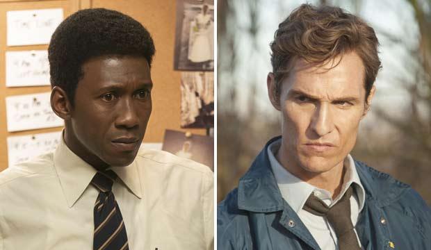 Mahershala Ali and Matthew McConaughey in True Detective