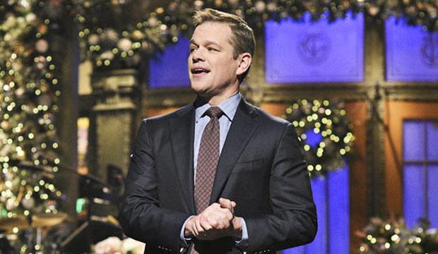 Matt Damon Snl Christmas.Flipboard Emmy Episode Analysis Matt Damon Brings