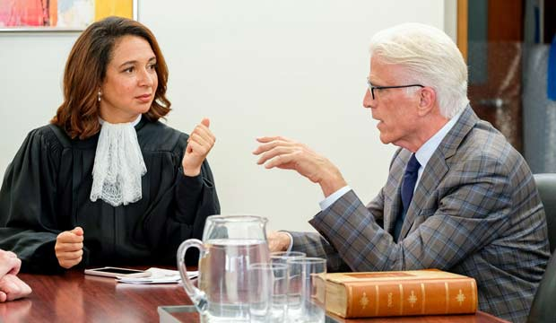 Emmy episode analysis: Maya Rudolph ('The Good Place') brings down the forking gavel as all-powerful Judge