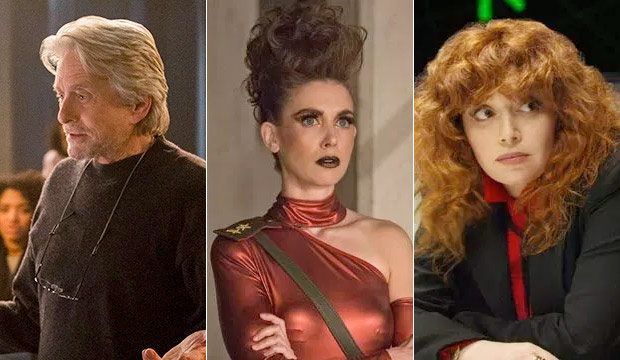 Netflix has never had 3 Best Comedy Series Emmy nominees … until now? Here comes 'Kominsky Method,' 'GLOW' and 'Russian Doll'
