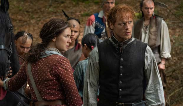 Outlander' Emmy Submissions: Sam Heughan, Caitriona Balfe