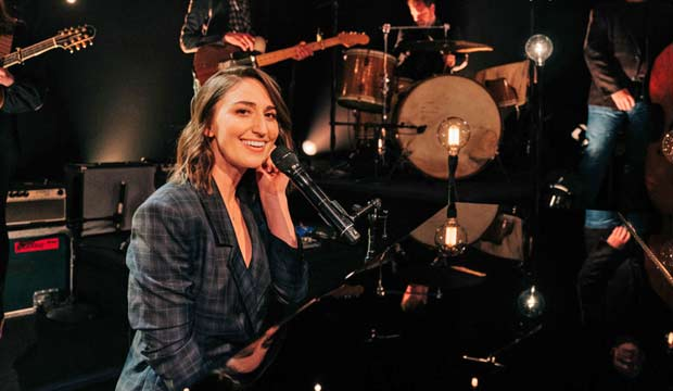 A Grammy at last for Sara Bareilles in 2020? She's 0-for-7, but has another chance with the political 'Amidst the Chaos'