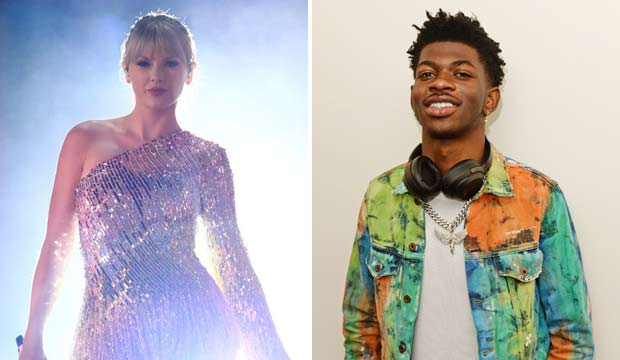 Taylor Swift and Lil Nas X