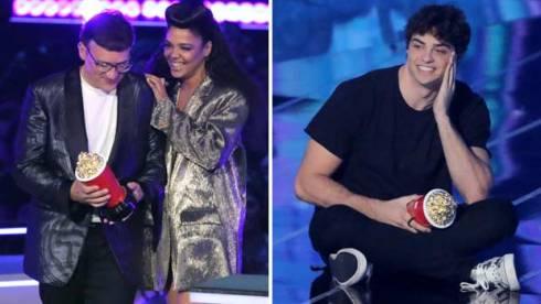 Tessa Thompson and Noah Centineo at MTV Movie and TV Awards 2019