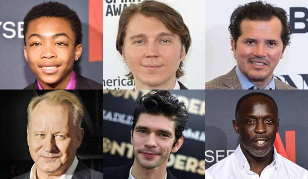 Emmy episode submissions for Movie/Limited Supporting Actor nominees Asante Blackk, Paul Dano, John Leguizamo, Stellan Skarsgard, Ben Whishaw, Michael K. Williams