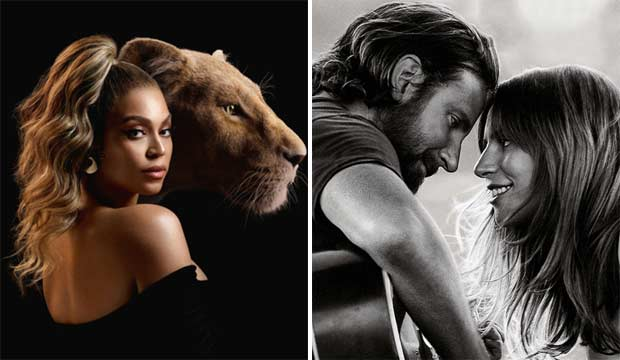 The Lion King and A Star is Born