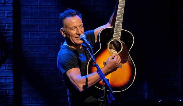Can Bruce Springsteen nab Emmy, Grammy and Tony within a span of 2 years?