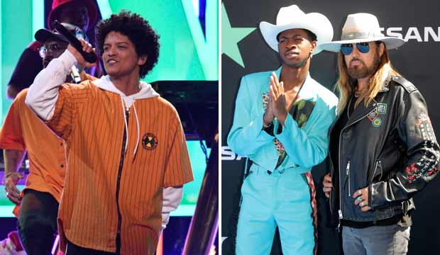 Bruno Mars and Lil Nas X