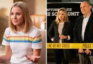 Kristen Bell in The Good Place and Veronica Mars