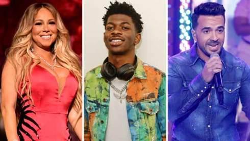 Mariah Carey, Lil Nas X and Luis Fonsi