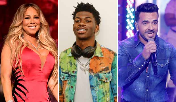 Mariah Carey, Lil Nas X and Luis Fonsi