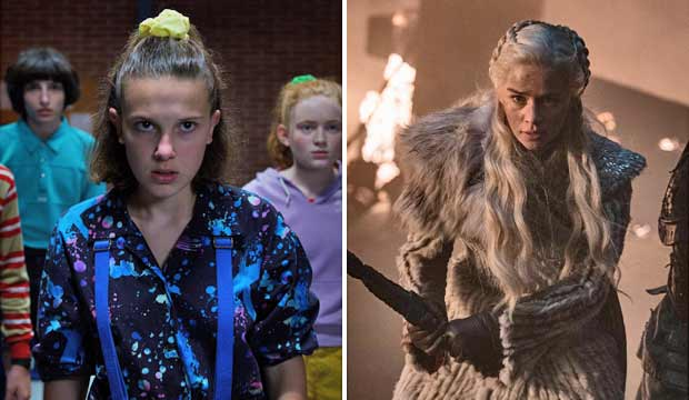 Stranger Things and Game of Thrones
