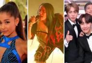 Ariana Grande, Billie Eilish and BTS