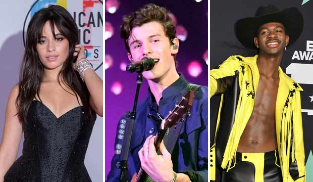VMAs performers announced: Camila Cabello, Shawn Mendes, Lil Nas X and more at MTV Video Music Awards 2019