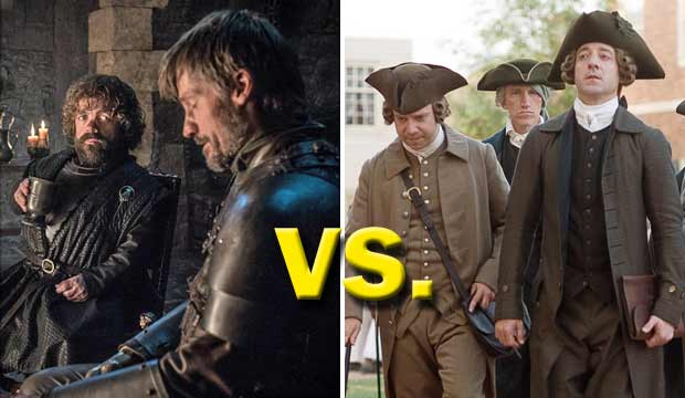 'Game of Thrones' vs. 'John Adams': Will 'GOT' exceed the founding father's record 13 Emmy wins? [POLL]