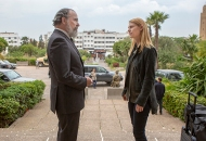 Mandy Patinkin and Claire Danes, Homeland