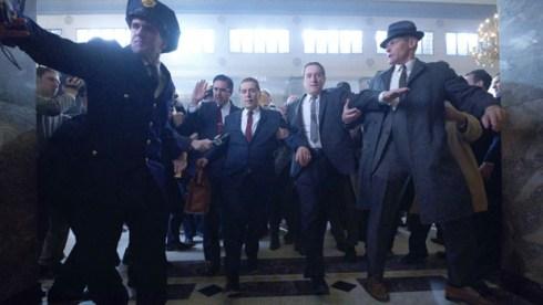 The Irishman starring Al Pacino and Robert De Niro