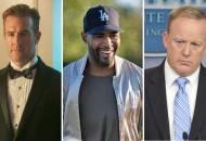 James Van Der Beek, Karamo Brown and Sean Spicer