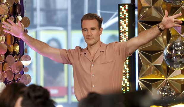 Will James Van Der Beek win 'Dancing with the Stars,' or will he be up a 'Creek'?