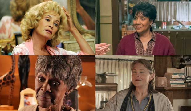 Jessica Lange, Phylicia Rashad, Cicely Tyson and Cherry Jones