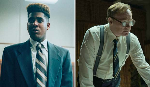 Jharrel Jerome and Jared Harris