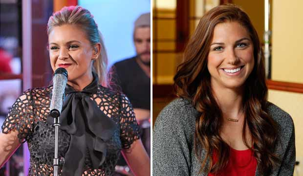 Kelsea Ballerini and Alex Morgan