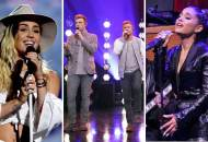 Miley Cyrus, Backstreet Boys and Ariana Grande