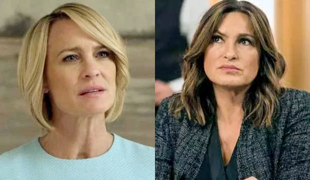 Robin Wright ('House of Cards') is first Drama Actress Emmy nominee since Mariska Hargitay to achieve this rare feat