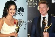 Sarah Michelle Gellar and Chandler Massey at the Daytime Emmys