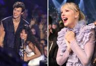 Shawn Mendes, Camila Cabello and Taylor Swift