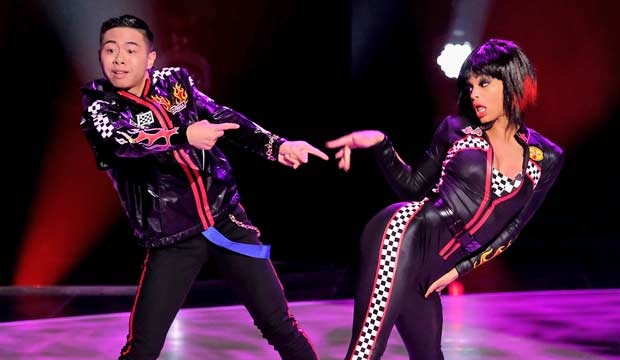 Bailey and Mariah on SYTYCD