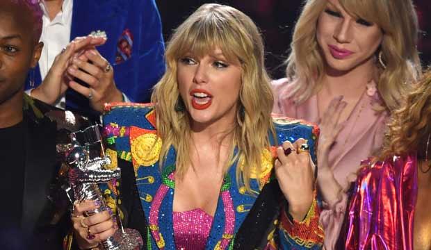 Taylor Swift at the VMAs 2019