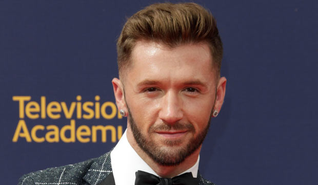 Travis Wall at Emmys 2018