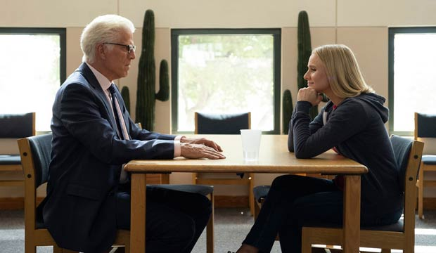 Emmy episode analysis: Ted Danson ('The Good Place') is devilishly funny as a demon with a heart of gold