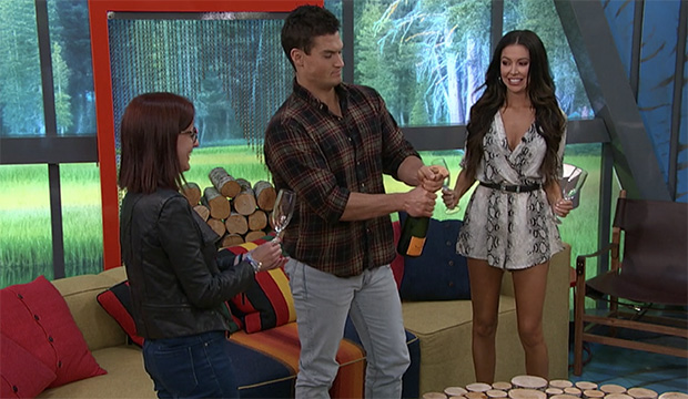 Nicole Anthony, Jackson Michie and Holly Allen, Big Brother 21