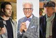 Bill Hader, Ted Danson and Michael Douglas