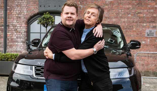 Carpool Karaoke When Corden Met McCartney
