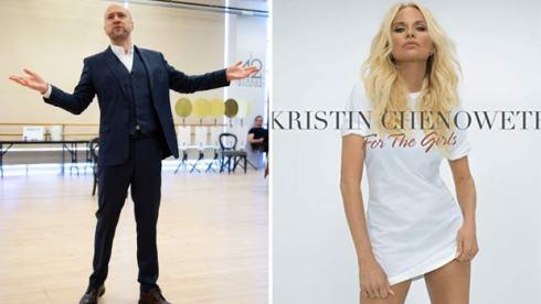 Derren Brown and Kristin Chenoweth