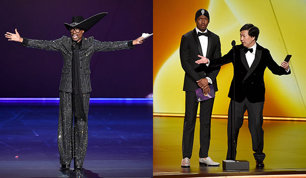 Billy Porter; Nick Cannon and Ken Jeong