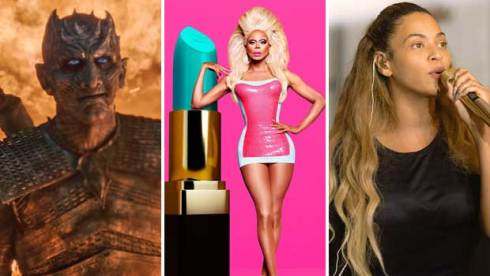 Game of Thrones, RuPaul and Beyonce