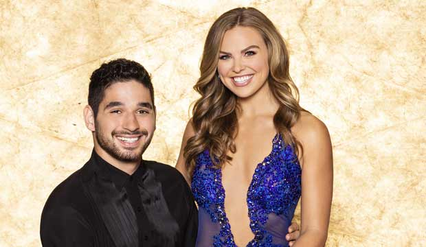 Hannah Brown and Alan Bersten on DWTS