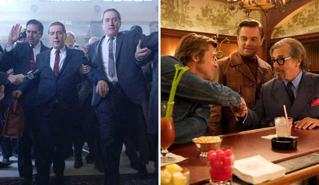 The Irishman and Once Upon a Time in Hollywood