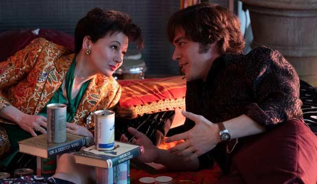 Renee Zellweger and Finn Wittrock in Judy