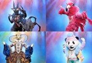the-masked-singer-black-widow-flamingo-leopard-panda